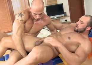 Delicious baffle is delighting twink with fellatio