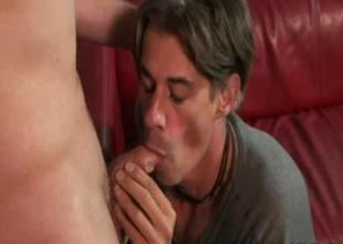 Chad Brooks and Mark Galftone Daddy Anal Time