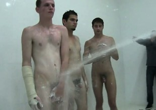 Twinks must be washed wide of their horny fratmates as take the role hazing
