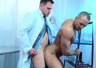 Englishman doctor anally shagging botheration