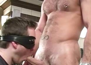 Amazing gay stud stripping