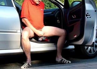 daddy parking lot cumshot