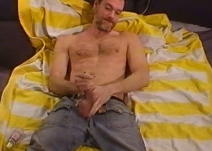 This gay has big cock and balls