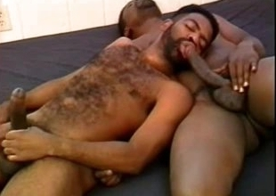 Black admass with great bodies suck cock
