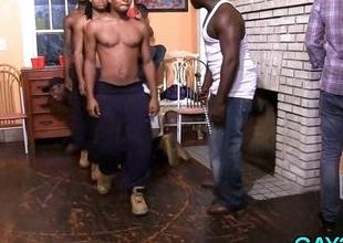 Ebony chaps try gays Hawkshaw
