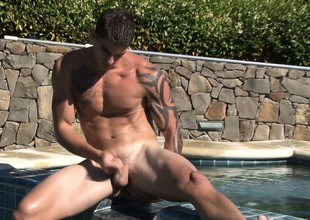 Making a splash at a private pool line for one is rancid on film