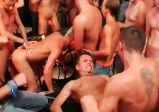 Gay pub action