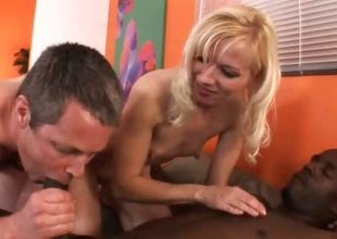 Heidi Hanson Shares a Black Cock With Her Husband
