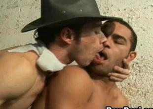 Sexy Latino Gay Have Hard Bareback Sex