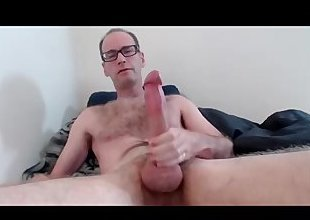 Jerking Big Trim Cock