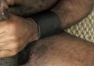 Interracial gay action with cumshot