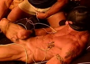 Full service electrostim with the addition of jerking