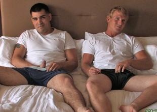 Alan & Brock Military Porn Photograph