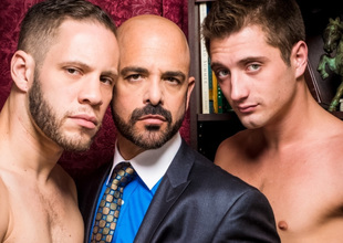 Adam Russo & Wolf Hudson & JD Phoenix in Sugar Daddies Video