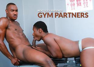 Tyson Tyler & Damian Brooks in Gym Partners XXX Video