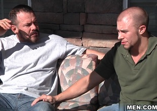 Eli Huntress & Max Sargent in The Straight Supplicant Part 3 Scene