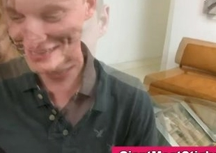 Twink sucking missing an enormous black well-pleased bushwa