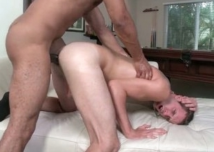 Logan obtaining fat black cock doggy style