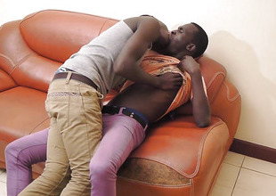 Black African Twinks Dulani and Manu Fuck Bareback