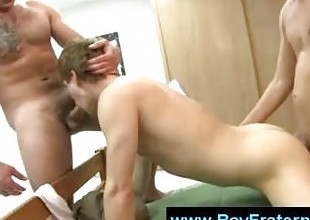 College gays have real anal fuck