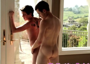 Twinks assfucking on unobstructed afternoon