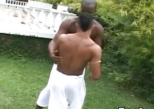 Black Gay Anal Fuck Cum Swapping