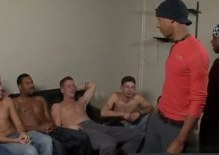 black dudes in a gang bang are so hot