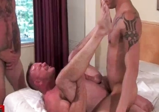 Extreme elated bareback fucking and cock