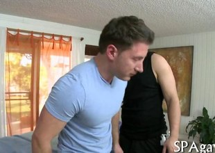 Glum harmonize guy sweats redness outside while getting his ass banged