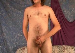 Long haired blonde gay jacks big cock