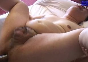 なま汁しぼり(1)乳首モロ感でぶアナルの苦しみ