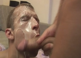 Barebacking With Facial Cumshot