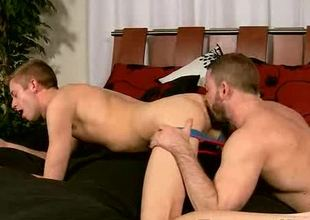 Shay Michaels gets his ass hole licked increased by drilled!