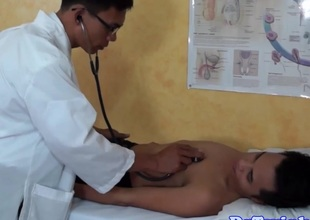 Asian doctor analplays hither twinks botheration