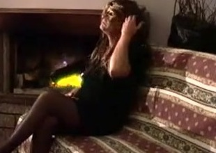 Homemade Crossdresser Dildoing Alone