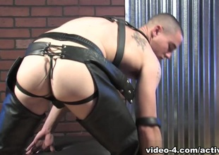 Neal near Leather Military Porn Video