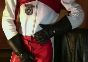 Leather Biker suit Dainese