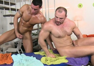 The boys trade addict and convulsion he gets his ass pounded bareback style