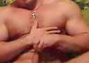 MuscularGuy's Webcam Show Oct 14