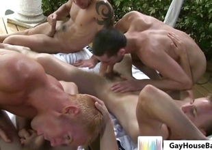 Gayhousebait Pool Side Games