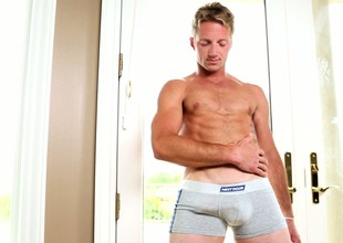 Kody Slater strips his clothes and shows not present his worked out body
