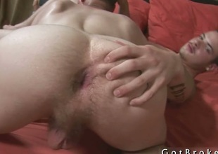 Broke tramp gets ass fucked apart from dildo