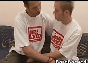 Barebacked of Three Gay Hardcore Sex