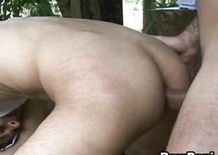 Starkers Sexy Latino Gay Hardcore Bareback Sex