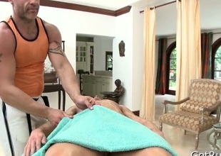 Rafter gets take note massage