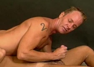Gays In Blowjob and Fucking Action