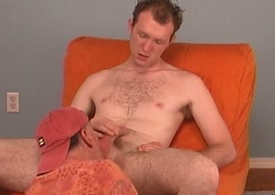 Rimming str8 clothes-horse and sucking his cock