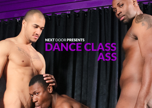 Nubius & Kiern Duecan & Damian Brooks in Dance Class Ass XXX Video