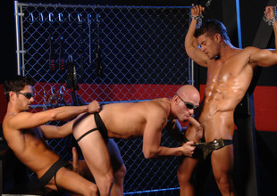 Patrick Rouge & Cody Cummings & Donny Wright in The Black hole Prisoner XXX Video