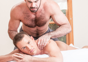 Cooperate Santoro & Brandon Wilde in Massage House 2 Video